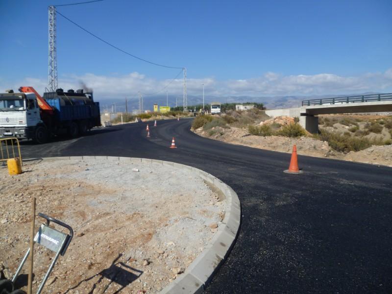 INGENIERÍA CIVIL Acceso a Parque de Bomberos de Roquetas de Mar