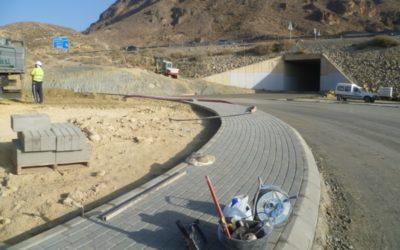 INGENIERÍA CIVIL Obras de ejecución del Semienlace en Aguadulce (Roquetas de Mar)